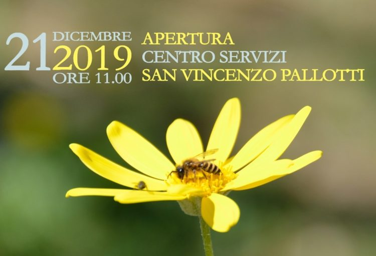 """Riapre il Centro Servizi """"San Vincenzo Pallotti"""""""